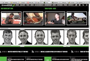 GreenEDGE Website